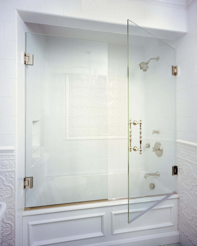 Tub doors hydroslide sliding tub doors for 3 panel tub shower doors