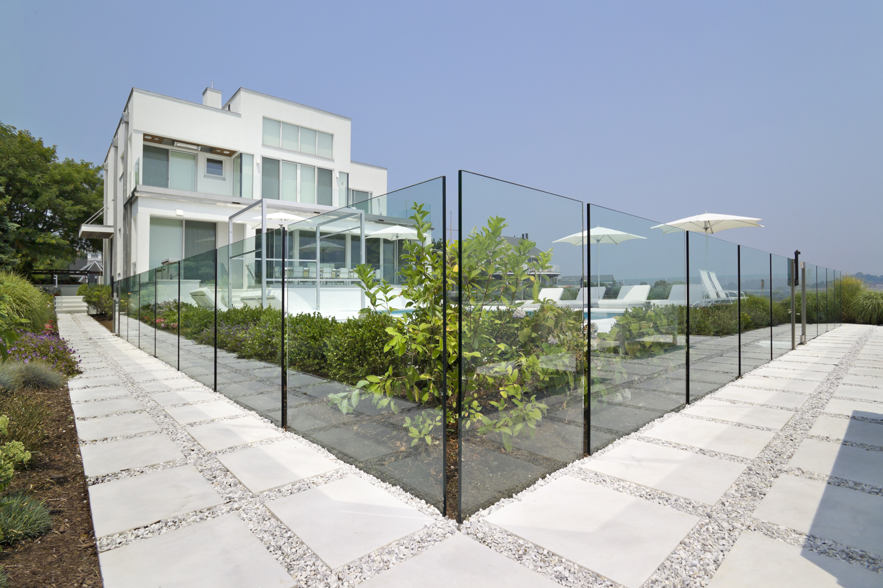 Architectural Glass Fences